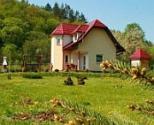 Domy w Bieszczadach w miejscowości Kulaszne blisko Słowacji