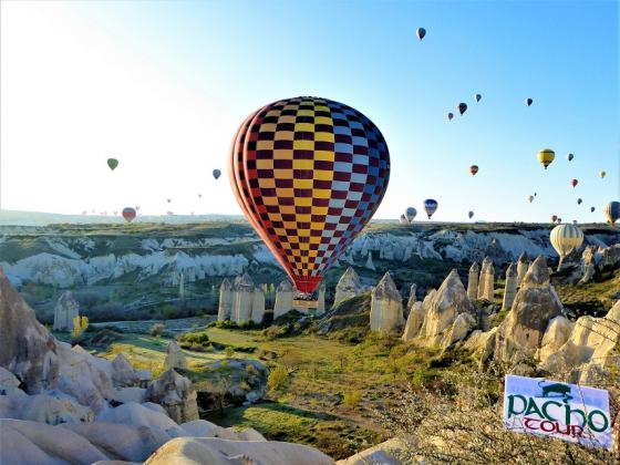 Balon w Kapadocji