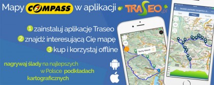 Mobilne mapy | Compass & Traseo